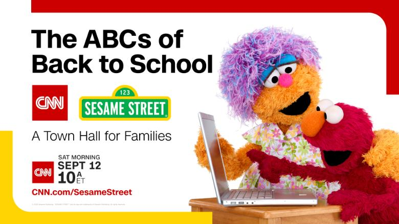 Sesame Street CNN Back to School Special