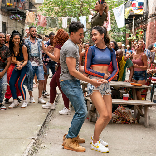 In The Heights dancing