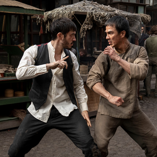 Warrior and Kung Fu